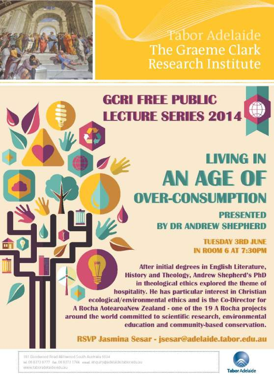 Lecture on creation care