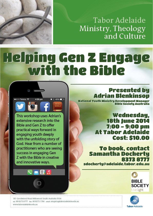 Helping Gen Z Engage with the Bible - Workshop