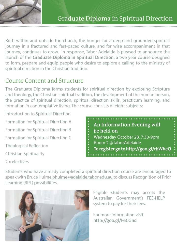 Graduate Diploma in Spiritual Direction - Tabor Adelaide_Page_2