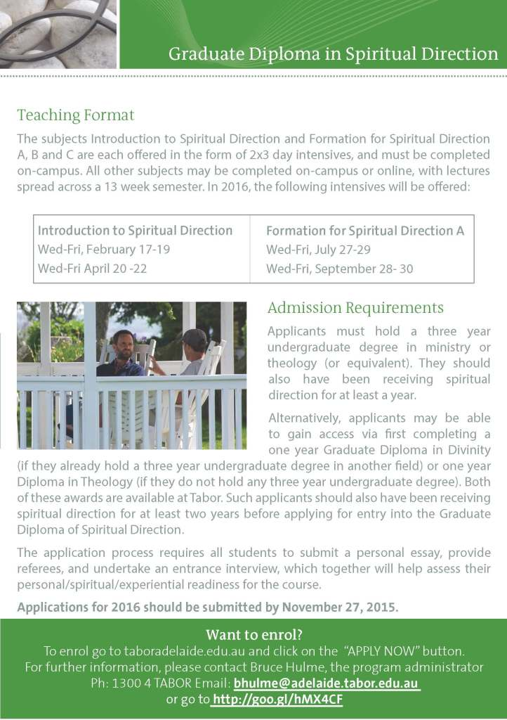 Graduate Diploma in Spiritual Direction - Tabor Adelaide_Page_3