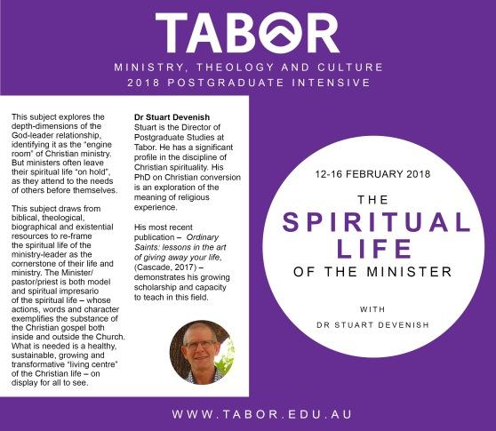 MTC Post Grad Spiritual Life